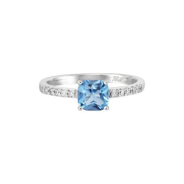 Blue Topaz Ring DJ's Jewelry Woodland, CA