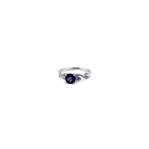 Created Alexandrite Ring Image 3 DJ's Jewelry Woodland, CA