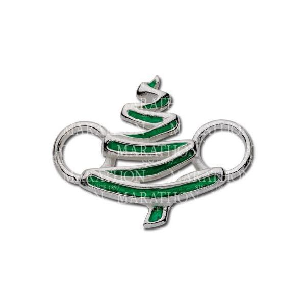 Enameled Christmas Tree Charm / Clasp DJ's Jewelry Woodland, CA