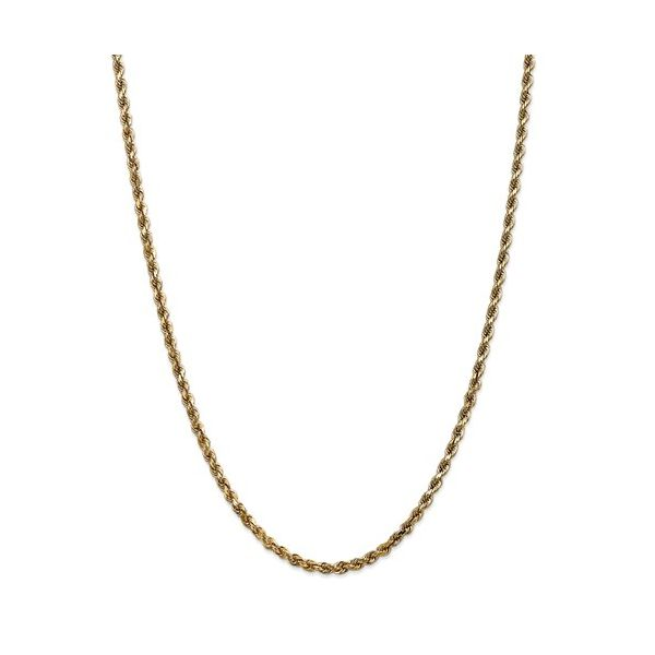 Yellow Gold 4mm Rope Chain DJ's Jewelry Woodland, CA