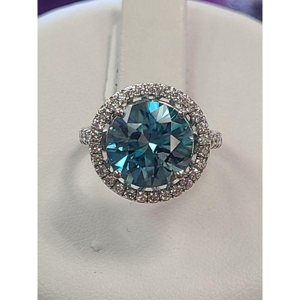 Blue Zircon Ring DJ's Jewelry Woodland, CA