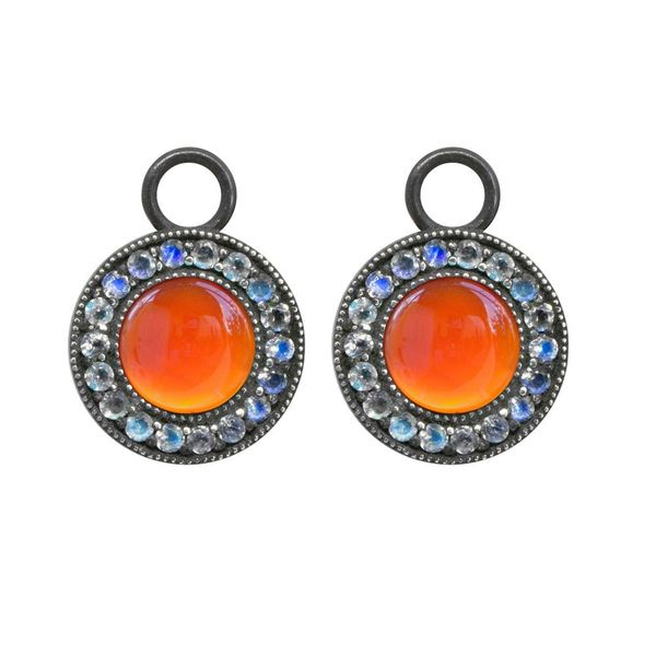 Carnelian and Moonstone Orbit Jackets DJ's Jewelry Woodland, CA