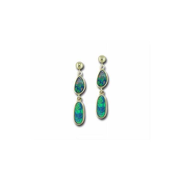 Opal Earrings DJ's Jewelry Woodland, CA
