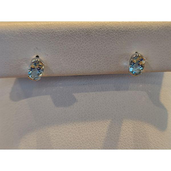 AquaMarine Earrings DJ's Jewelry Woodland, CA