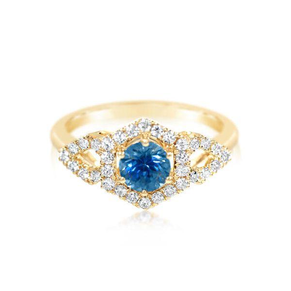 Montana Sapphire Ring DJ's Jewelry Woodland, CA