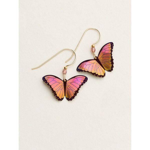 Living Coral - Bindi Butterfly Earrings DJ's Jewelry Woodland, CA