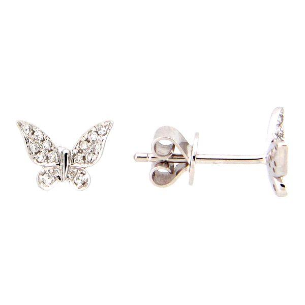 Butterfly Earrings DJ's Jewelry Woodland, CA