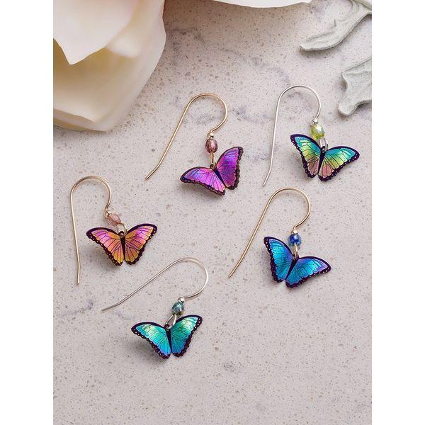 Bindi Butterfly Earrings Dangles Image 2 DJ's Jewelry Woodland, CA