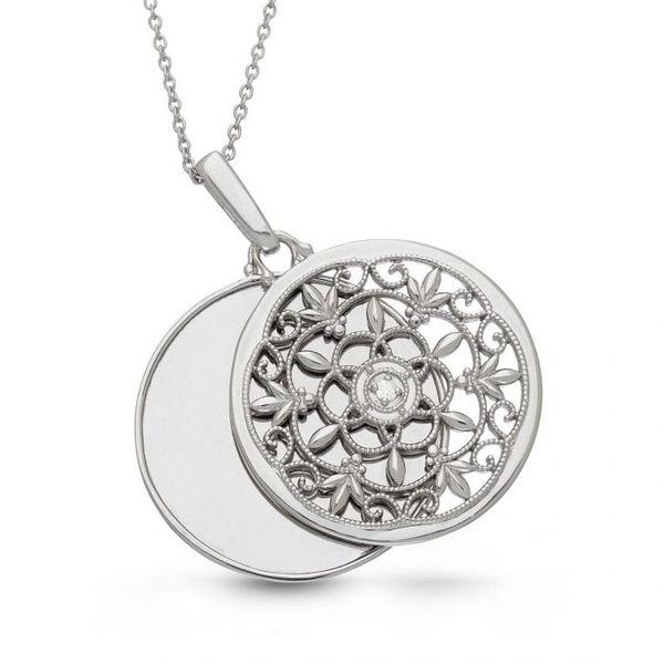 Biridie Locket Necklace Image 2 DJ's Jewelry Woodland, CA