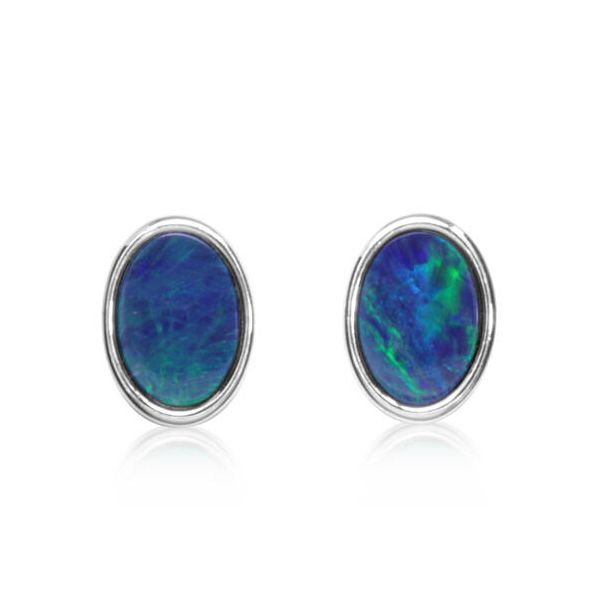 Opal Earrings DJ's Jewelry Woodland, CA
