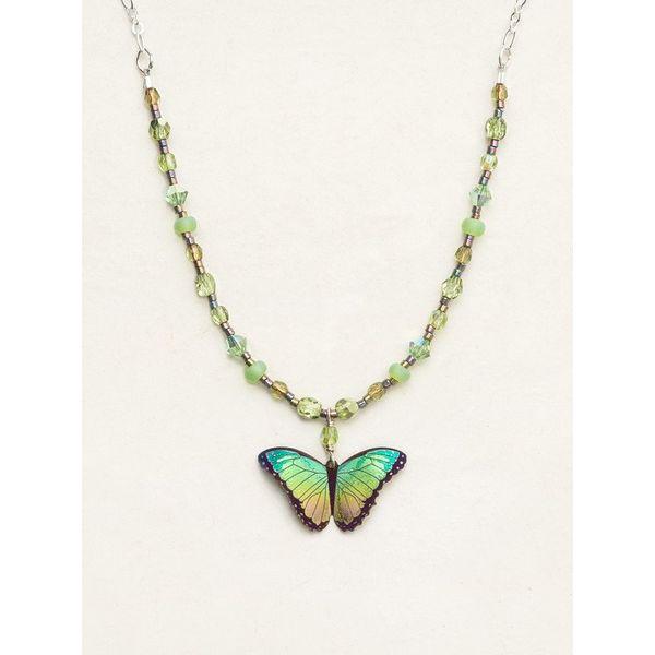 Island Green Bella Butterfly Necklace DJ's Jewelry Woodland, CA