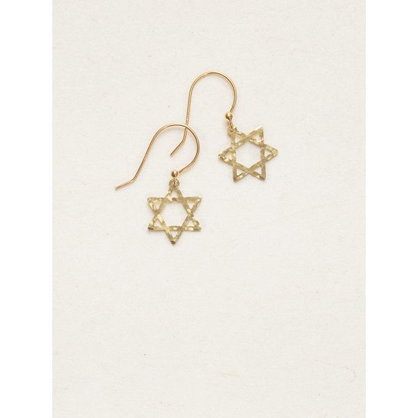 Star of David Earrings DJ's Jewelry Woodland, CA
