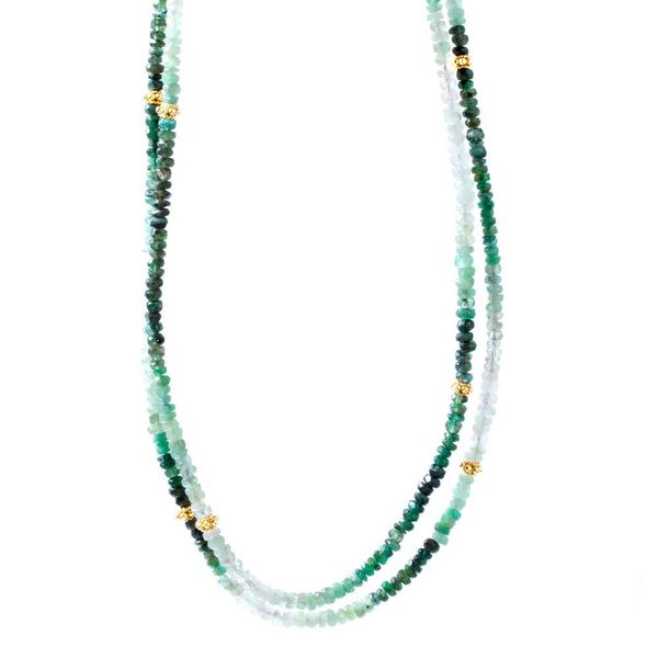 Emerald Necklette DJ's Jewelry Woodland, CA