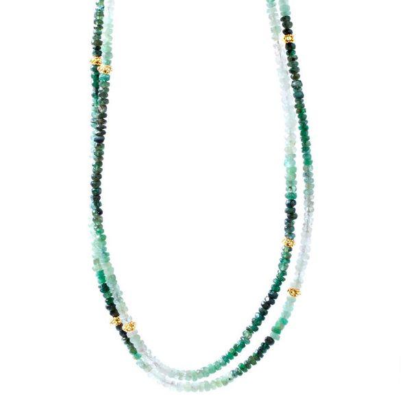 Emerald Necklette DJ's Jewelry Woodland, CA