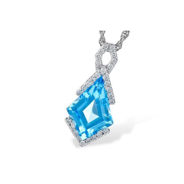 Blue Topaz Pendant DJ's Jewelry Woodland, CA