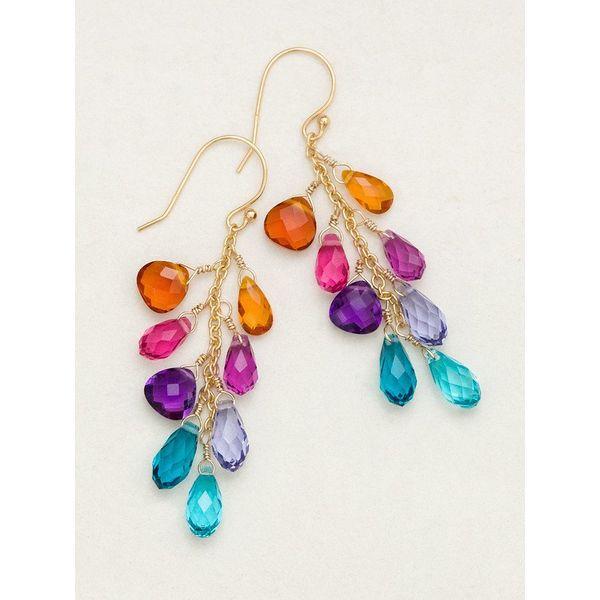 Rainbow Lorelei Earrings DJ's Jewelry Woodland, CA