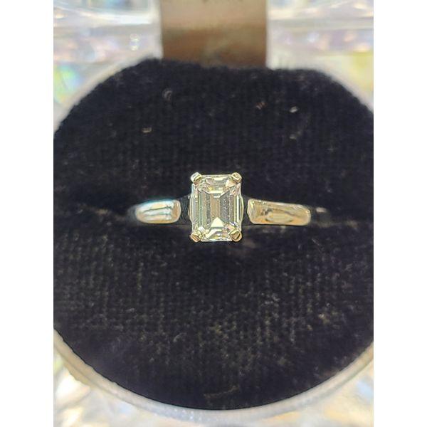 Emerald Cut Diamond Engagement Ring DJ's Jewelry Woodland, CA