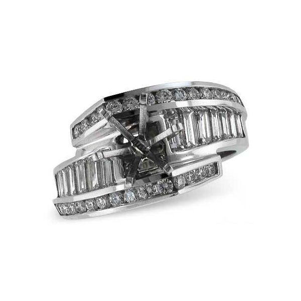 Diamond Semi-Mount Ring Image 3 DJ's Jewelry Woodland, CA