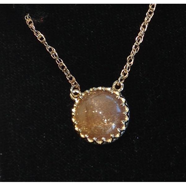 Sun Stone Pendant DJ's Jewelry Woodland, CA
