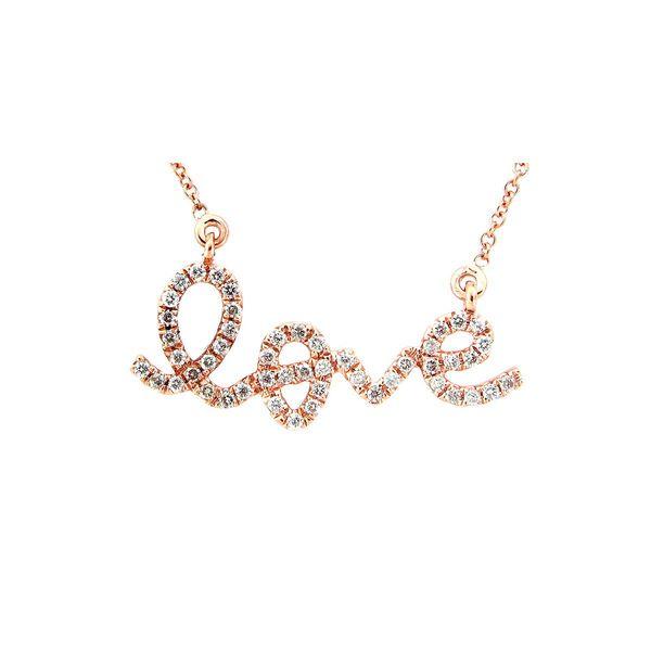Diamond Love Necklace DJ's Jewelry Woodland, CA
