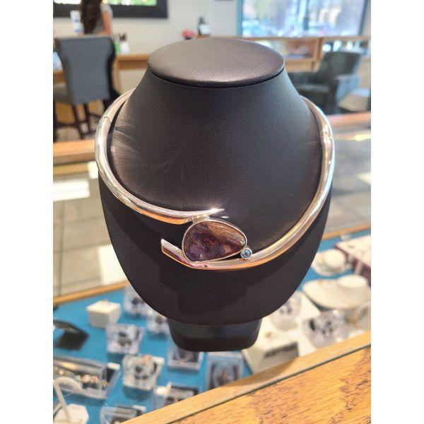 Boulder Opal Collar DJ's Jewelry Woodland, CA