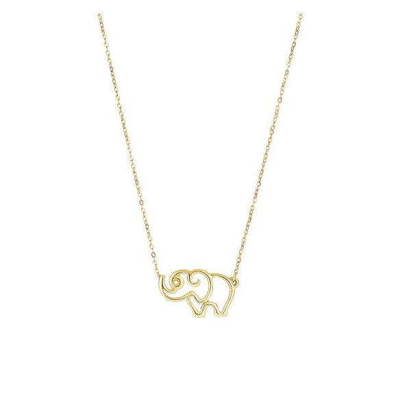 Elephant Necklace DJ's Jewelry Woodland, CA