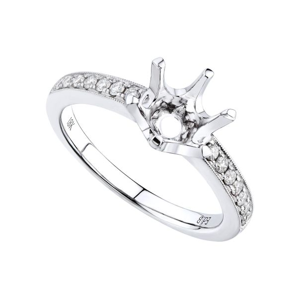 Semi-Mount Engagement Ring DJ's Jewelry Woodland, CA