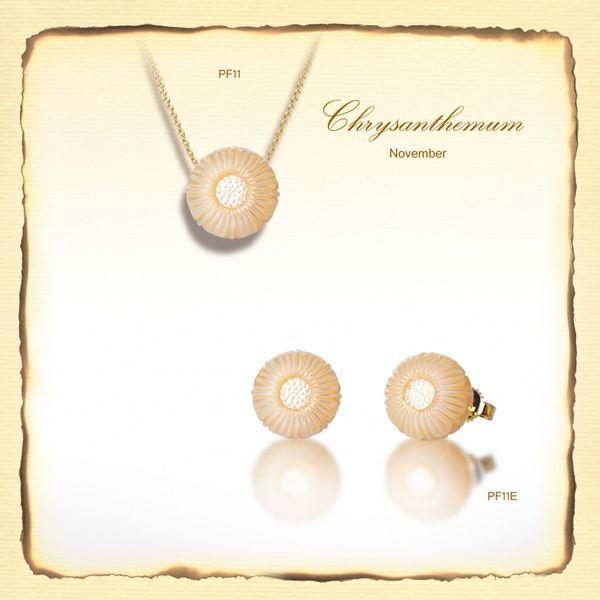 November Chrysanthemum Flower  DJ's Jewelry Woodland, CA