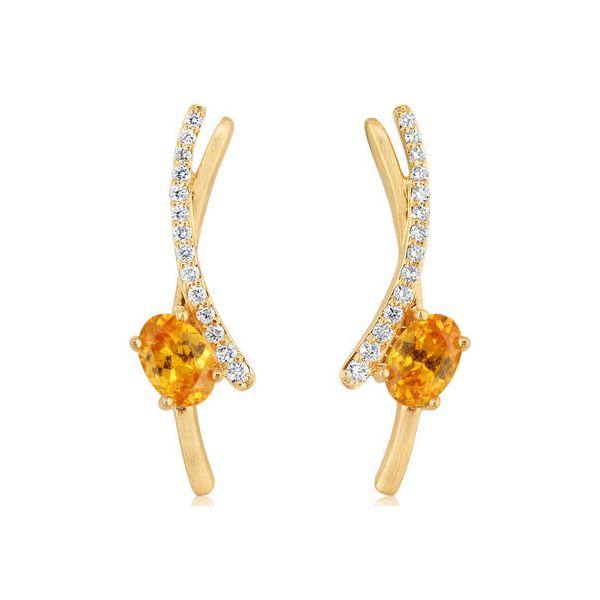 Mandarin Garnet Earrings DJ's Jewelry Woodland, CA