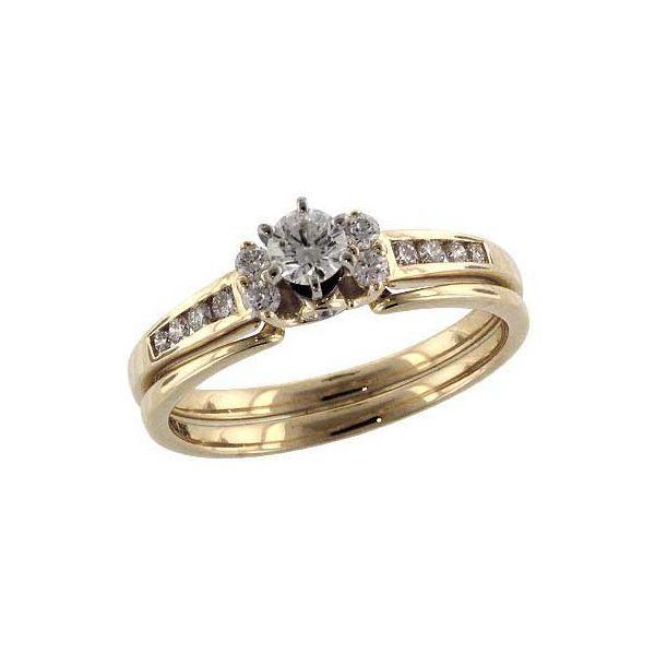 Diamond Wedding Set DJ's Jewelry Woodland, CA