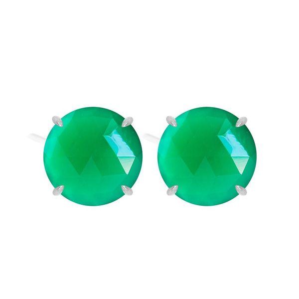Green Onyx Earrings DJ's Jewelry Woodland, CA