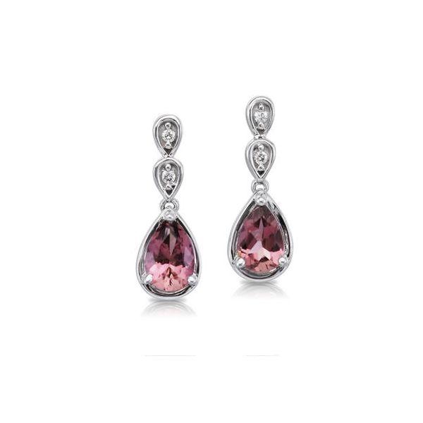 Tourmaline and Diamond Earrings DJ's Jewelry Woodland, CA