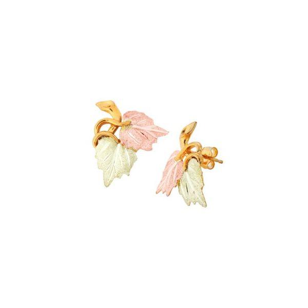 Grape Leaf Earrings DJ's Jewelry Woodland, CA
