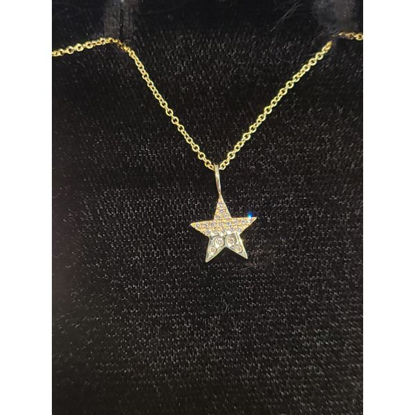 Diamond Star Pendant DJ's Jewelry Woodland, CA