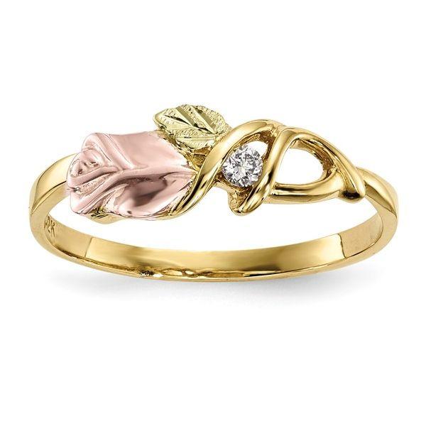 Blackhills Gold Rose Ring DJ's Jewelry Woodland, CA