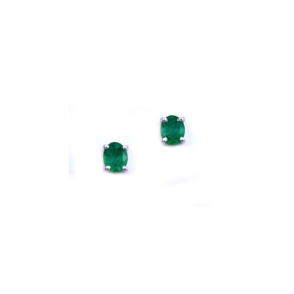 Emerald Earrings DJ's Jewelry Woodland, CA