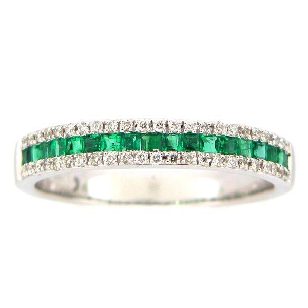 Emerald and Diamond Ring DJ's Jewelry Woodland, CA