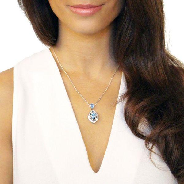 Sadie Silver Locket Image 2 DJ's Jewelry Woodland, CA