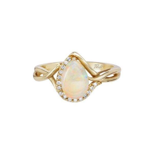 Opal and Diamond Ring DJ's Jewelry Woodland, CA