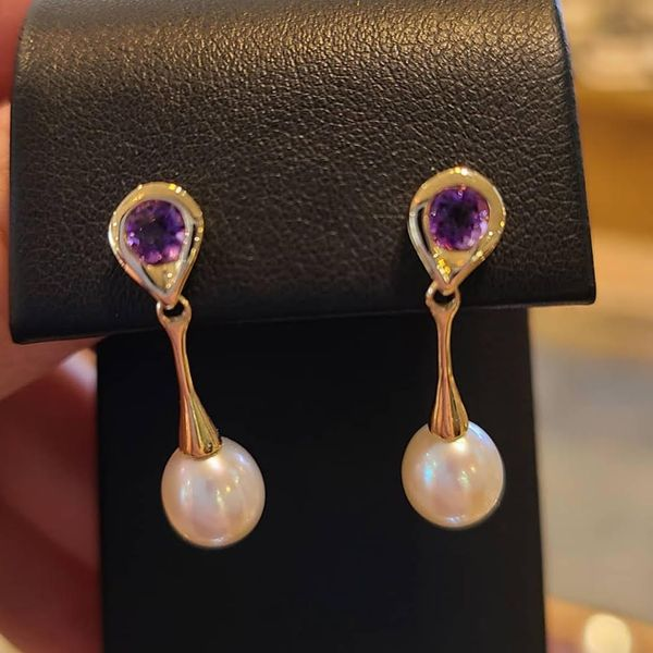 Pearl Earrings DJ's Jewelry Woodland, CA