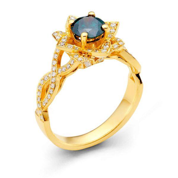 Rose Diamond Ring DJ's Jewelry Woodland, CA
