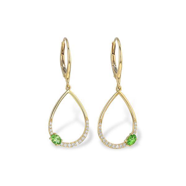Tsavorite Earrings DJ's Jewelry Woodland, CA