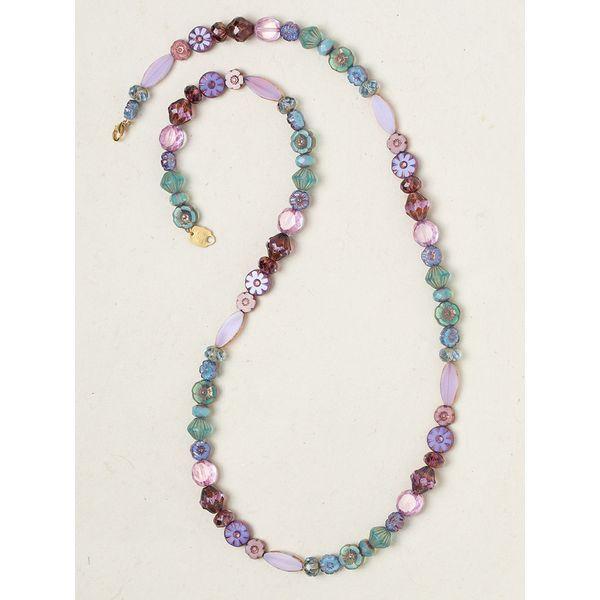 Lavender Morning Glory Necklace DJ's Jewelry Woodland, CA