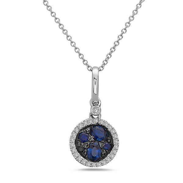 Sapphire Pendant DJ's Jewelry Woodland, CA