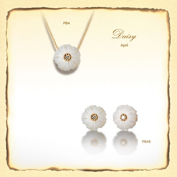 Daisy April Flower DJ's Jewelry Woodland, CA