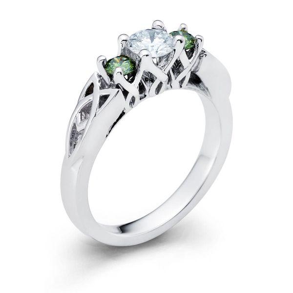 Celtic Diamond Ring DJ's Jewelry Woodland, CA
