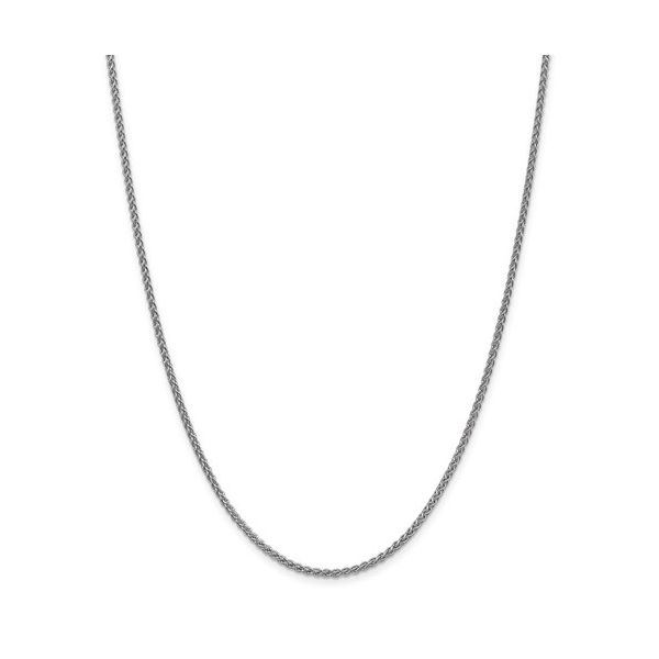 14K White Gold Spiga Chain DJ's Jewelry Woodland, CA