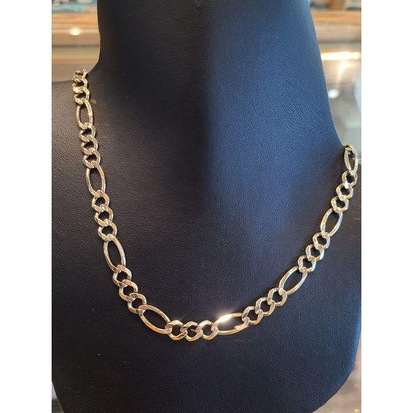 Gold Figaro Chain DJ's Jewelry Woodland, CA