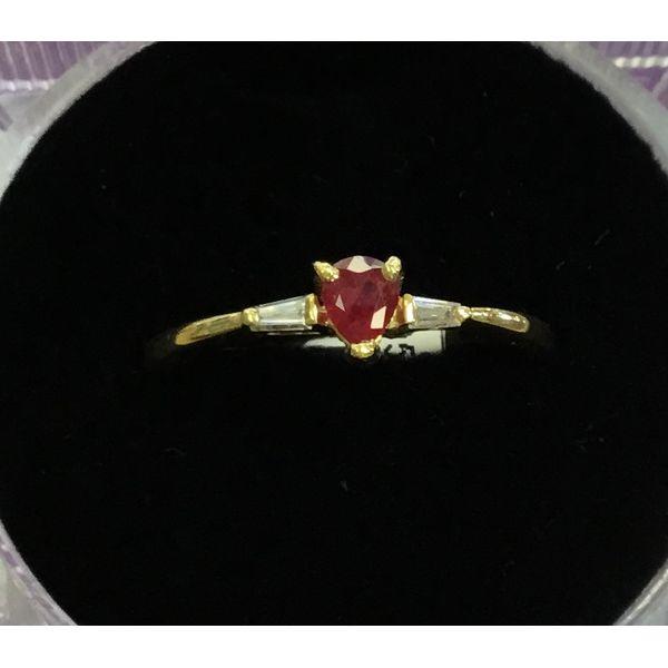 Ruby & Diamond Ring DJ's Jewelry Woodland, CA