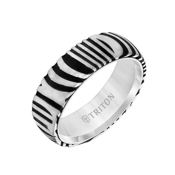 Tungsten Carbide Ring Image 2 DJ's Jewelry Woodland, CA